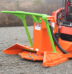 SS Mini Might Skid Steer Forestry Disc Mulcher
