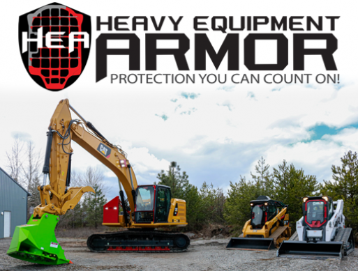 Heavy Equipment Armor for Skid Steers and Excavators
