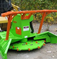SS ECO Skid Steer Forestry Mulcher