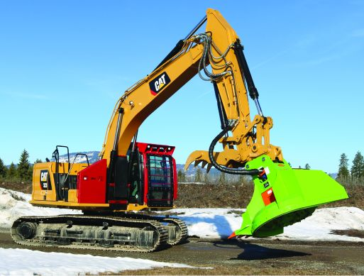 FOR SALE: CAT323 NEW GENERATION WITH AN RDM52EX